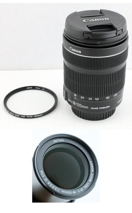 Canon EFs 18-135mm  IS STM 防手震