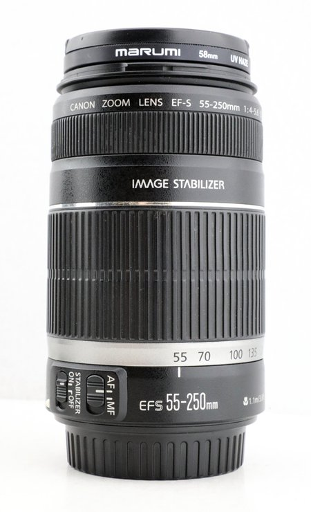 EFS 55-250mm IS 防手震
