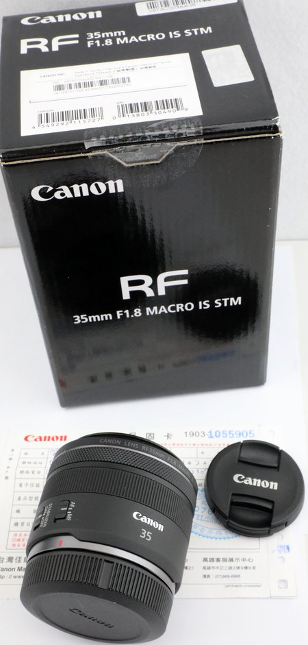 Canon EOS RF  35mm f 1.8 IS STM  寄賣