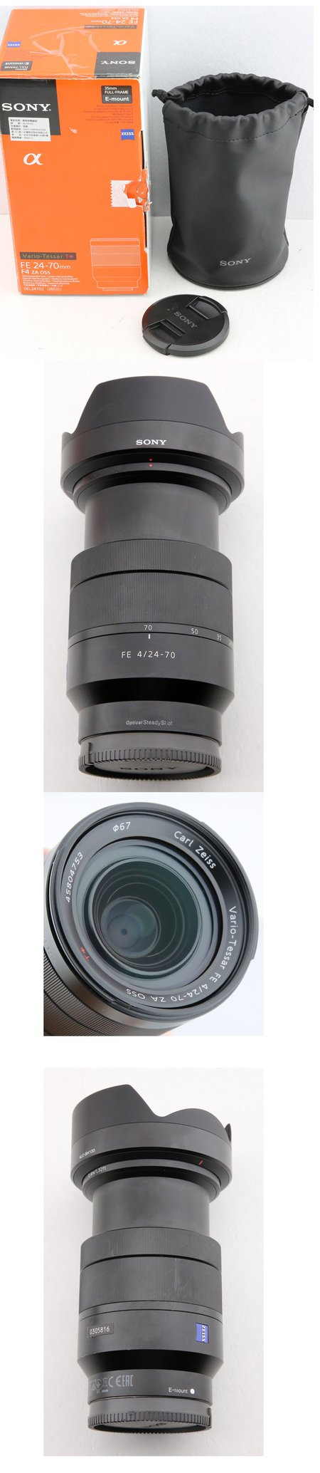 SONY FE 24-70mm f4 ZA #0305xx