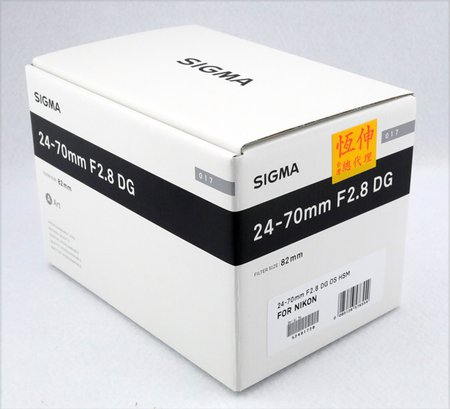 SIGMA Nikon 24-70mm f 2.8 OS ART  新品 現貨.