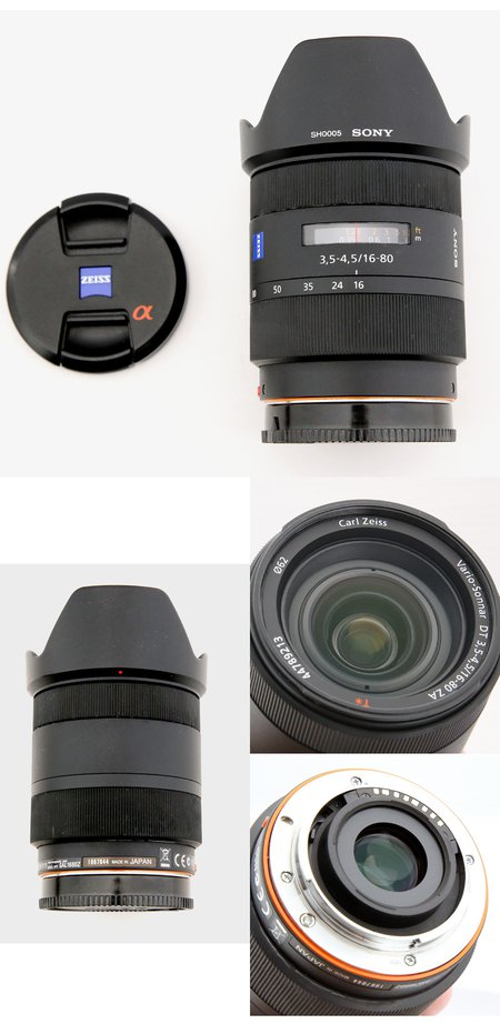 SONY DT 16-80mm 蔡司